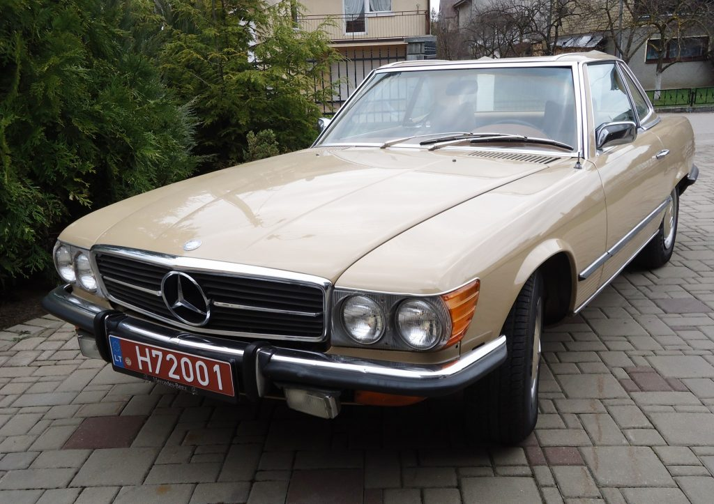 Mercedes-Benz 450 SL, 1972 m.