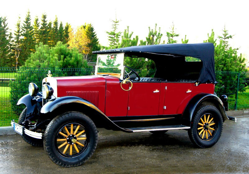Erskine Model 50 Touring, 1927 m.