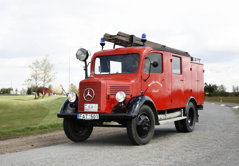 Mercedes gaisrinis automobilis, 1941 m.