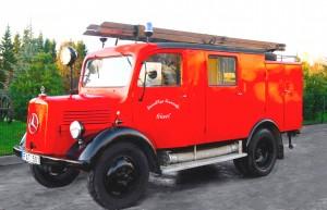 Mercedes - gaisrinė 1941 m