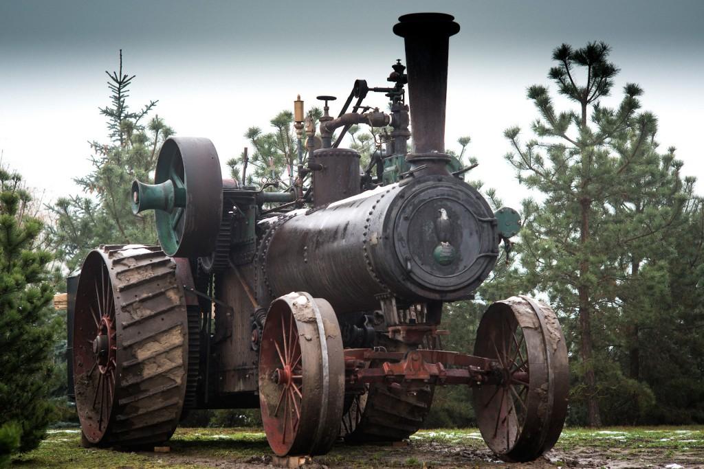 Garo traktorius CASE, 1913 m.