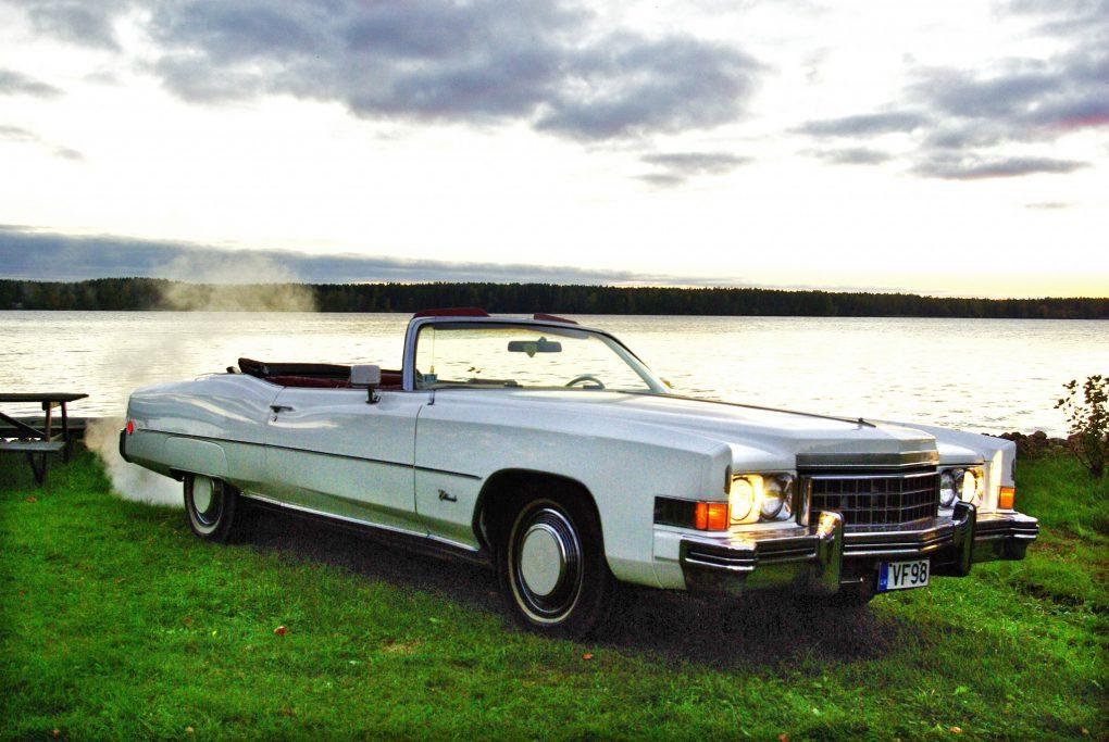 Cadillac Fleetwood Eldorado Convertible, 1973 m.