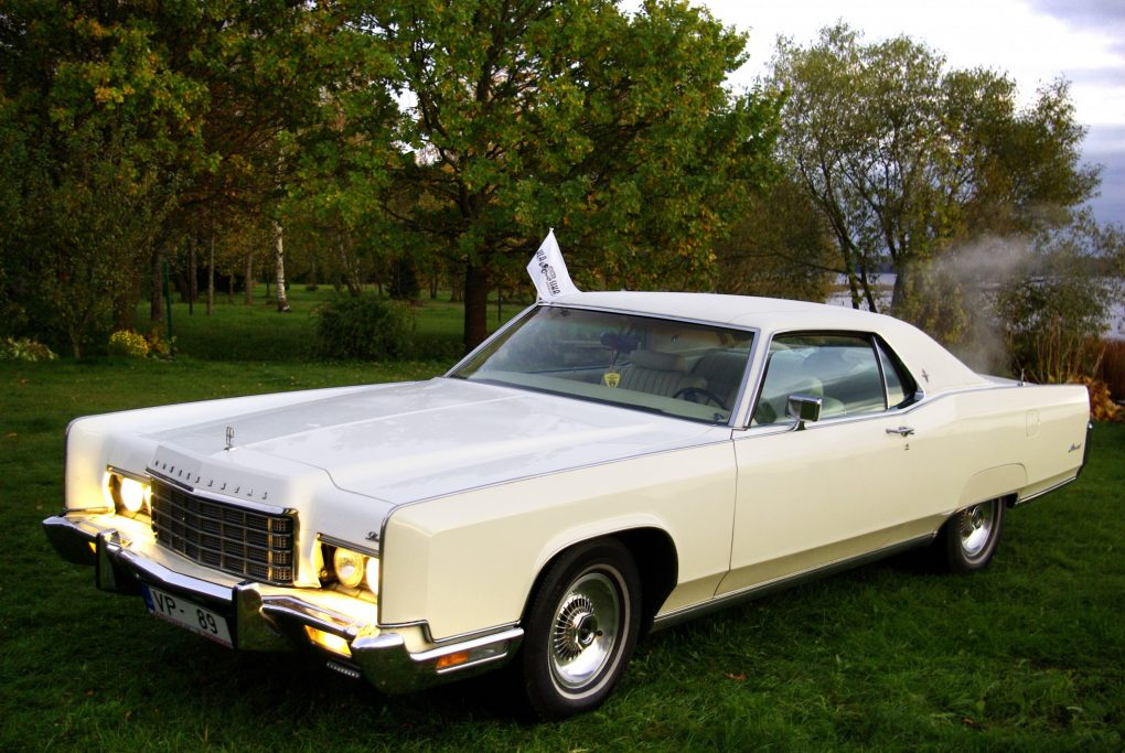 Lincoln Continental Coupe, 1973 m.