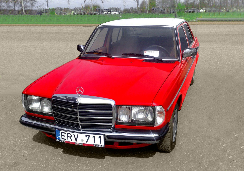 Klubo klasika nariai klasika for Mercedes benz 1983