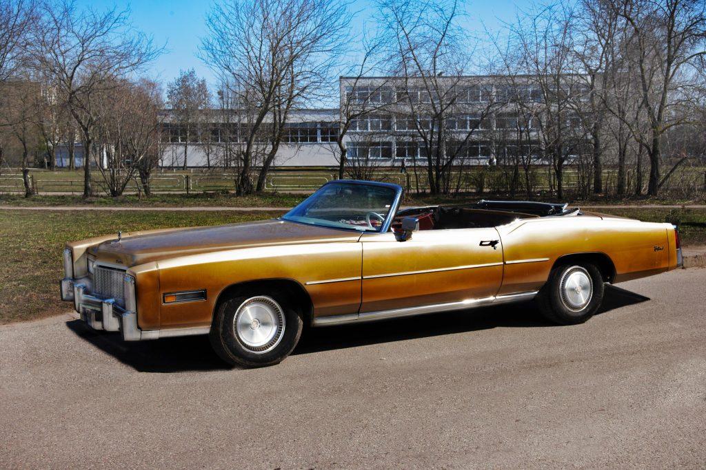 Cadillac Eldorado Convertible, 1976 m.