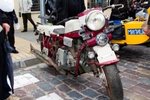 Lietuviškas motociklas ,,AM