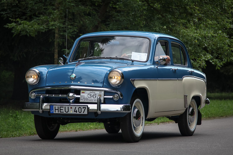 rimanto-cygo-moskvich-407-pagamintas-1959-m
