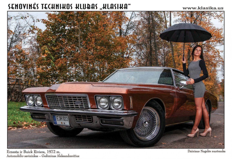 Ernesta ir Buick Riviera, pagam. 1972 m.