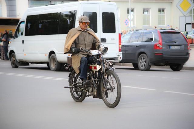 Seniausias motociklas Premier, pag. 1910 m. - V. Sereikos nuotrauka