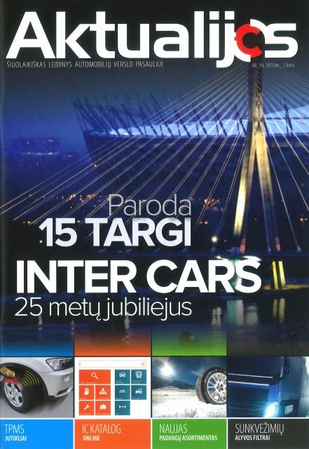 Bendrovės Inter Cars Lietuva žurnalas Aktualijos