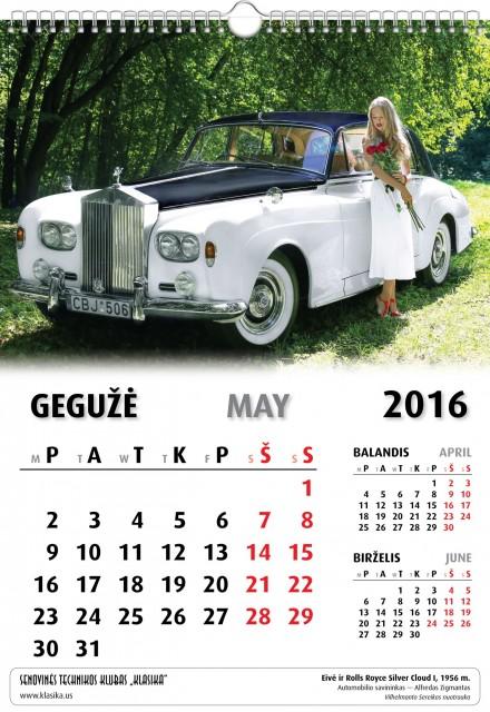 Gegužė - May