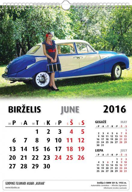 Birželis - June