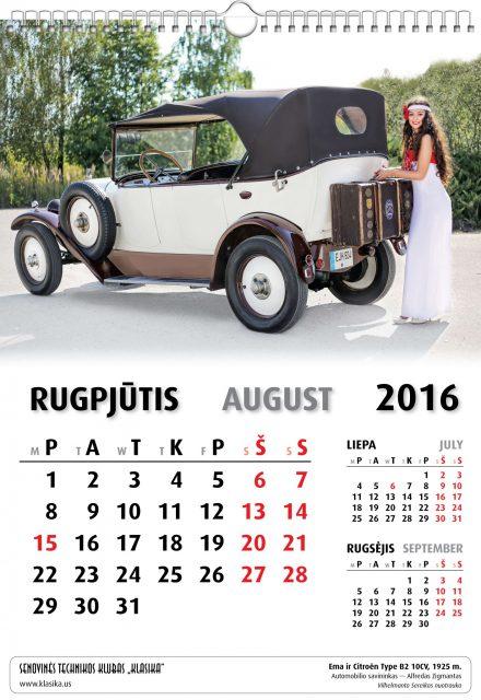 Rugpjūtis - August