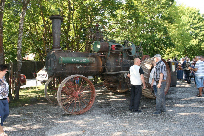 """1912 m. garo traktorius """"Case"""""""