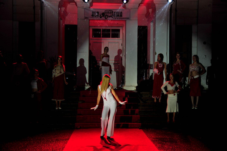 Koncertinę šventės dalį pradėjo Santarvės fondo estetinio ugdymo ir modelių mokyklos auklėtinės