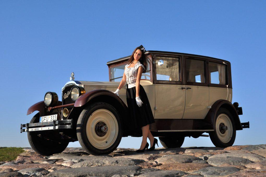 Raminta ir Packard 6 Series 333 Limousine, 1925 m. Automobilio savininkas - Gintautas Miškinis. Ilonos Daubaraitės nuotrauka