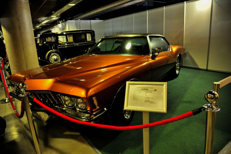 Buick Riviera, pagamintas 1972 m. Savininkas – Gediminas Aleksandravičius