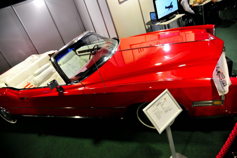 Cadillac Fleetwood Eldorado Convertible, pagamintas 1975 m. Savininkas – Vytautas Gineika