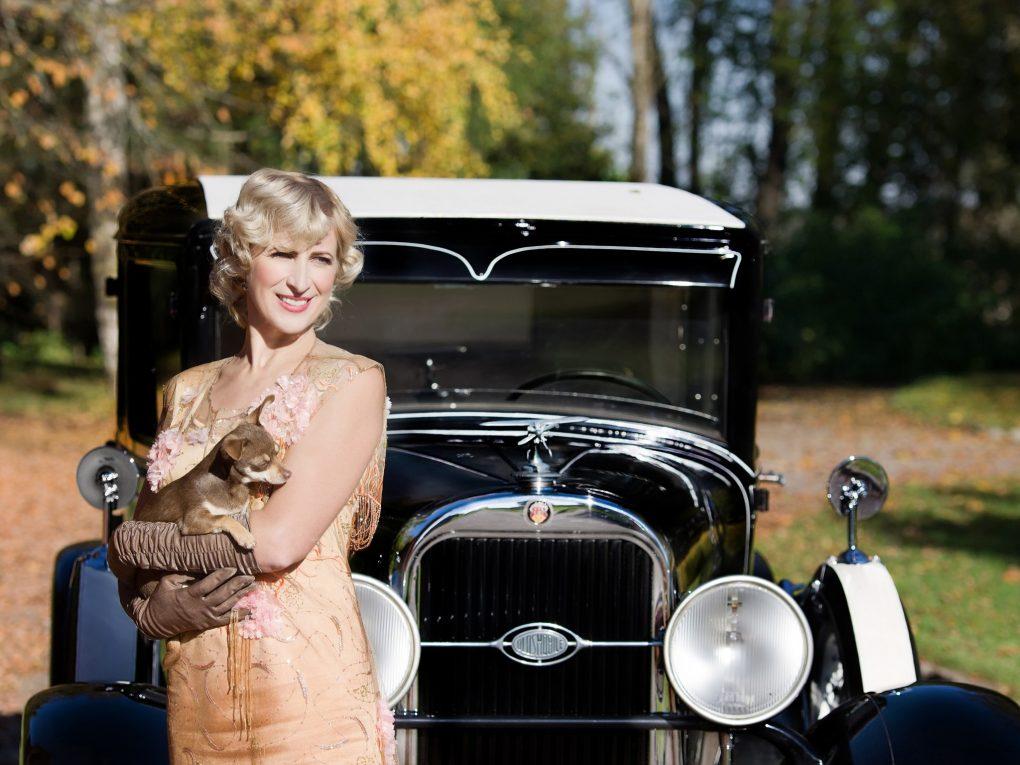 10-spalis-neringa-ir-oldsmobile-model-f-29-sedan-delux-1929-m-automobilio-savininkas-dalius-linkevicius-aurimo-franko-nuotrauka