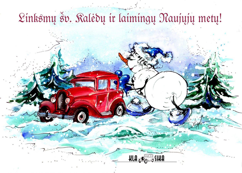 2010 m. kalėdinis atvirukas