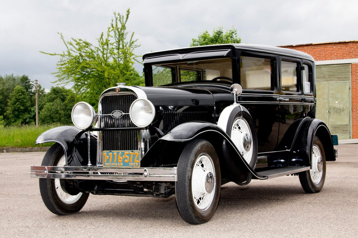 Oldsmobile, Model F-29 Landau Sedan–DeLux, 1929 m.