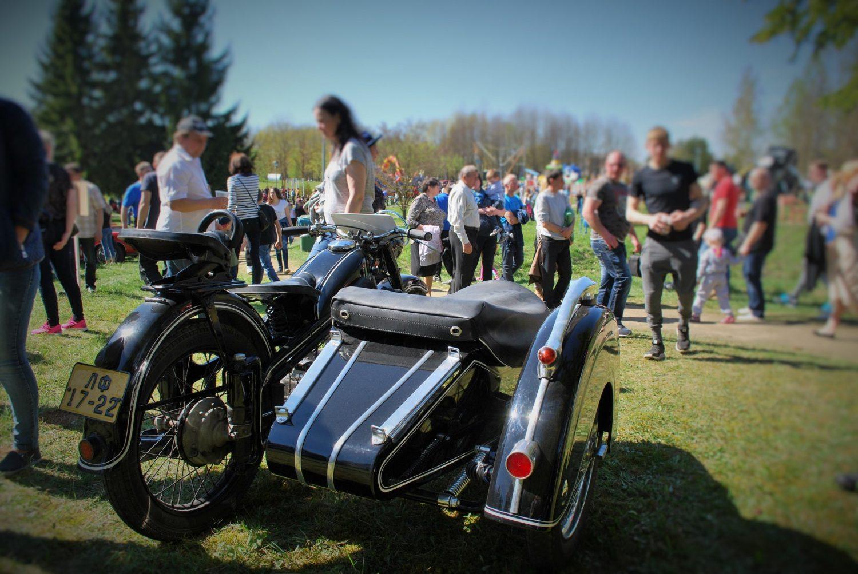 Geriausias renginio motociklas - Daliaus Linkevičiaus EMW R35/3, pagamintas 1953 m.