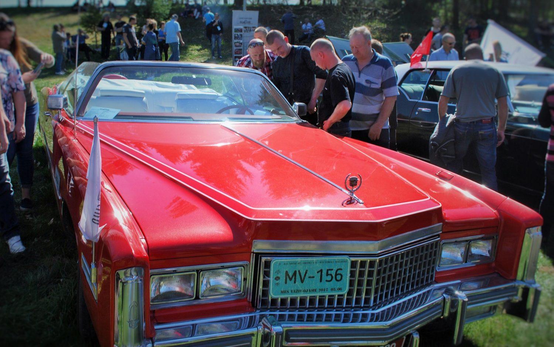 Gražiausias automobilis - Vytauto Dineikos Cadillac Eldorado