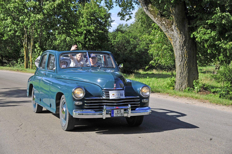 Laimėtojas - geriausio sovietinio automobilio kategorijoje - GAZ M 20 Pobeda, pagamintas 1950 m. Savininkas – Guntis Tigeris