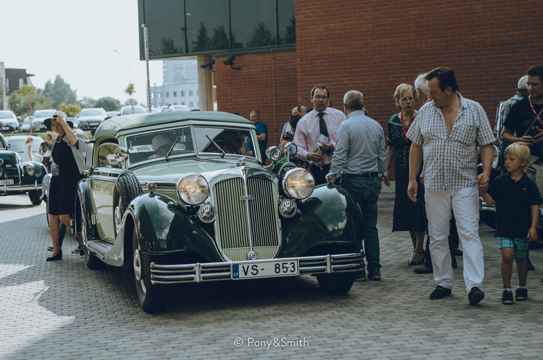 1937 Horch 853 (owner Janis Oskerko)
