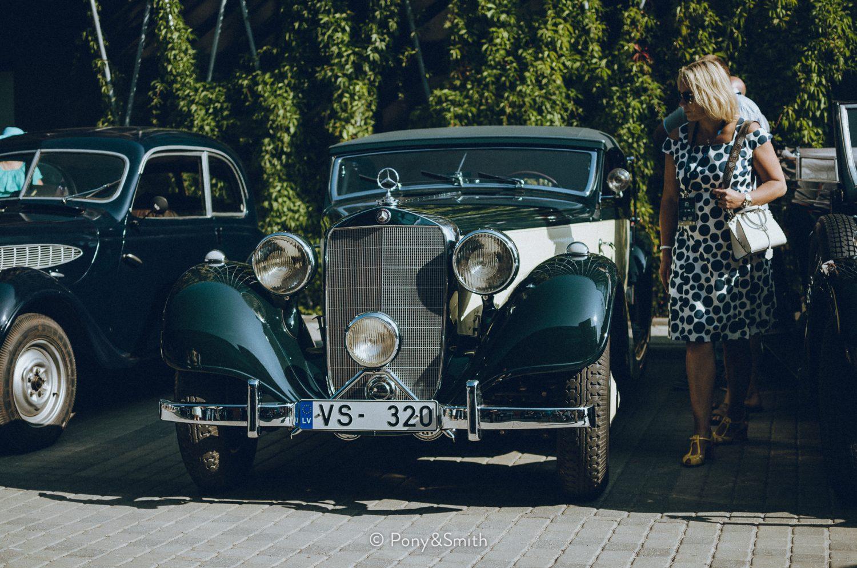 1940 Mercedes-Benz 320 Cabrio A (owner Andrejs Rode)