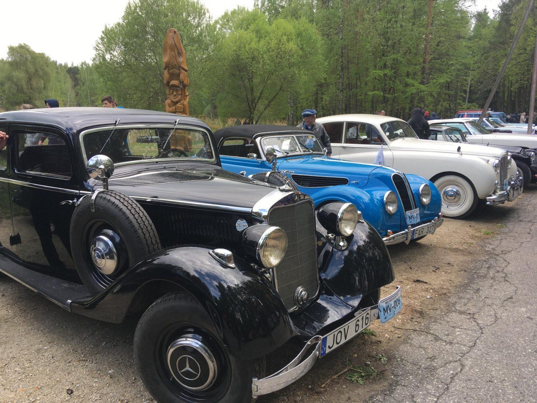 Parodoje dalyvavo 160 automobilių, 45 motociklai, 2 sunkvežimiai ir 1 autobusas.