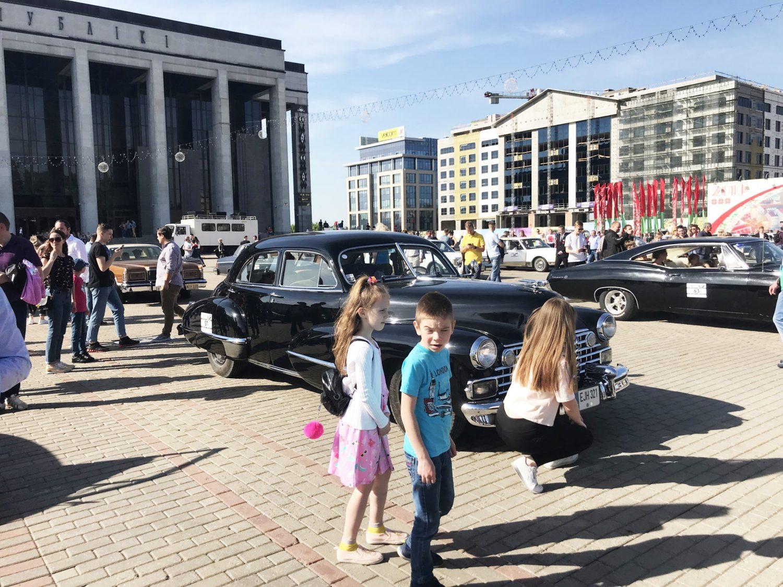 Paroda Minsko centrinėje aikštėje