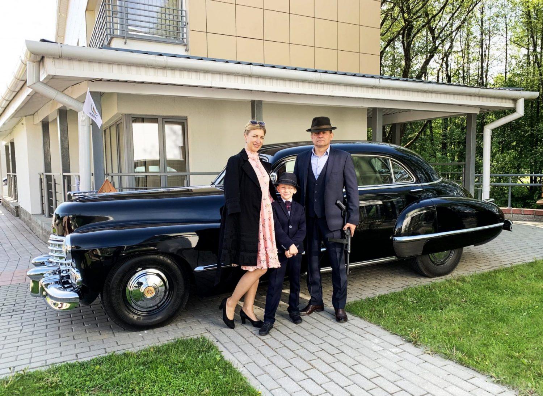 Stilingiausias renginio Retro Minsk 2019 ekipažas