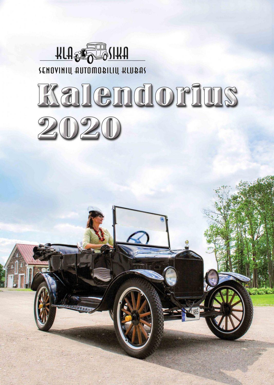 2020 Klubo Klasika kalendorius - viršelis, Silvijos Pranauskės nuotrauka