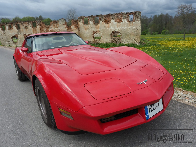Fotografas – Emanuelis Norbutas, 1980 m. Chevrolet Corvette