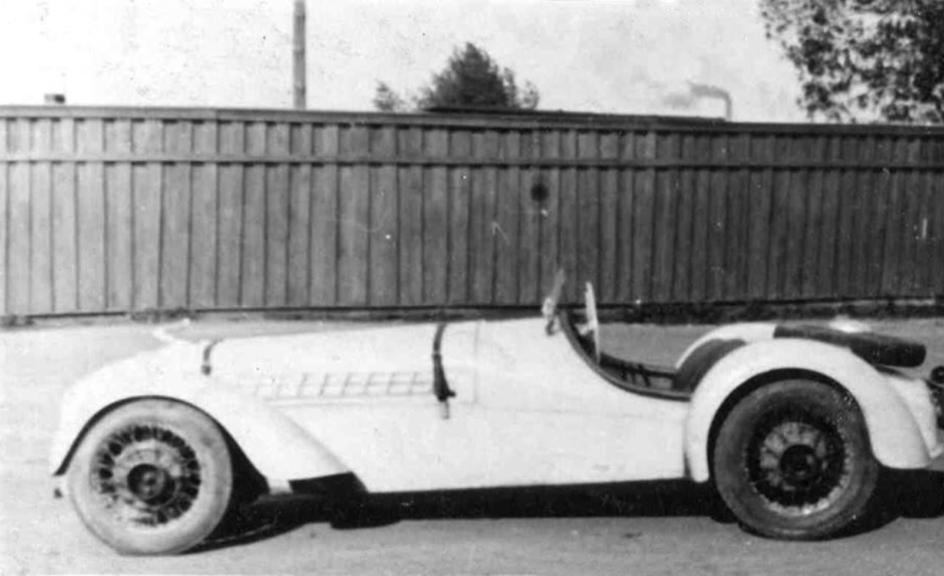 Pirmasis A. Babičiaus pagamintas automobilis