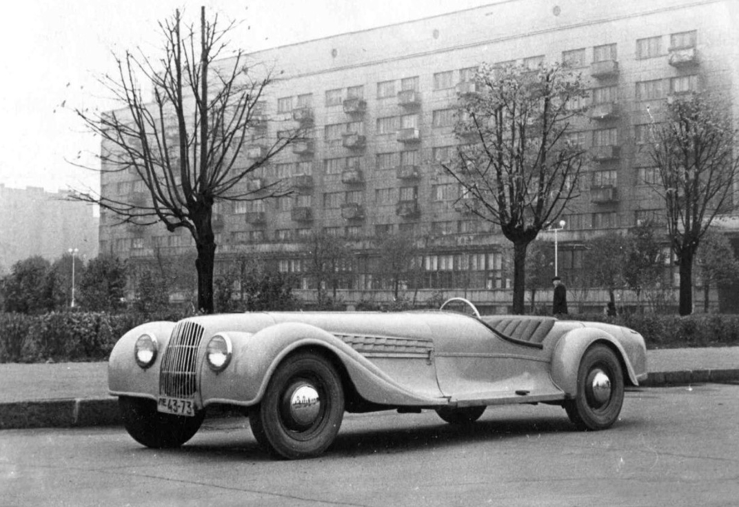 The 2nd sport car produced by A. Babich