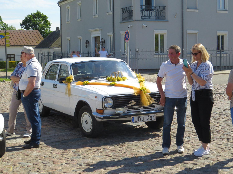 """Senovinių automobilių klubas """"Klasika"""" – Kėdainiuose. V. Karlos nuotr."""