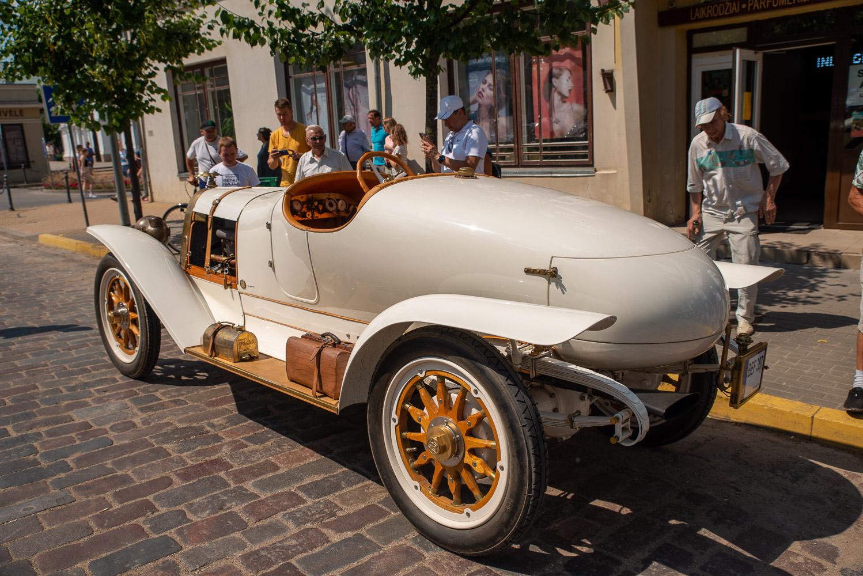 1914 m. gamybos automobilis Hansa G 12/36 Renntorpedo
