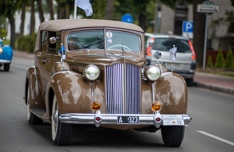 Packard Twelve 1608 Convertible, 1938 m.