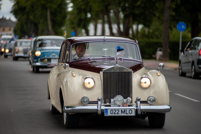Rolls Royce Silver Cloud II, 1960 m. Savininkas Tonu Magi (Estija).