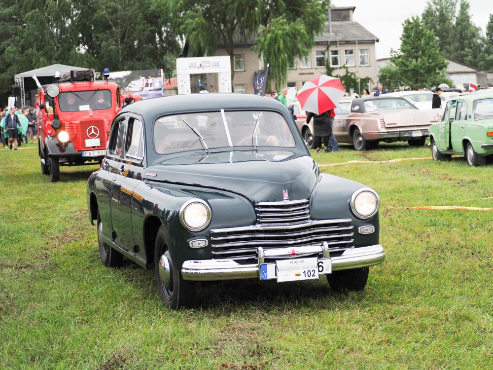 GAZ M-20 POBEDA, 1954 m. Savininkas Rolandas Kripaitis (Lietuva).